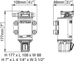 Marco OCK1-R Kit transfert huile réversible avec on/off intégré (24 Volt) 9