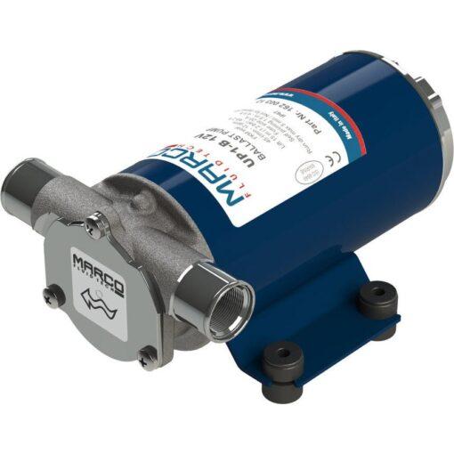 Marco UP1-B Pompe pour réservoir ballast avec rotor flexible 11 gpm - 45 l/min (24 Volt) 2
