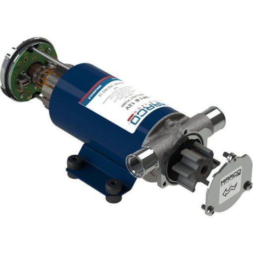 Marco UP1-B Pompe pour réservoir ballast avec rotor flexible 11 gpm - 45 l/min (24 Volt) 3
