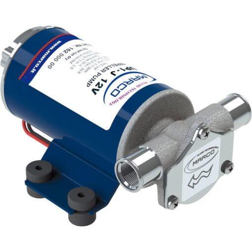 Marco UP1-J Pompe rotor souple 7.4 gpm - 28 l/min (24 Volt) 2