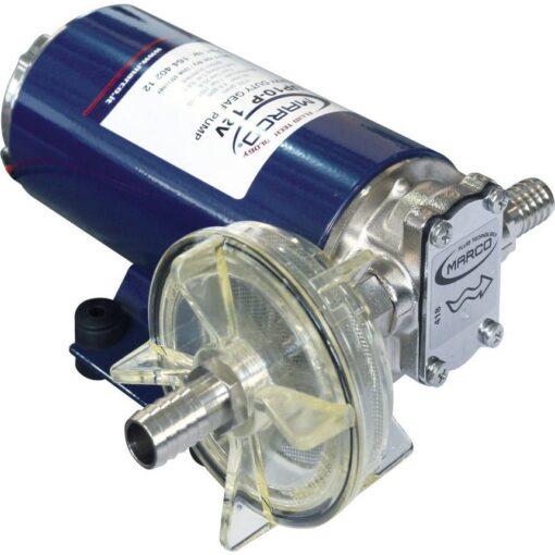 Marco UP10-P Pompe pour services lourds 4.8 gpm - 18 l/min - engr. PEEK - O-Ring VITON (12 Volt) 3