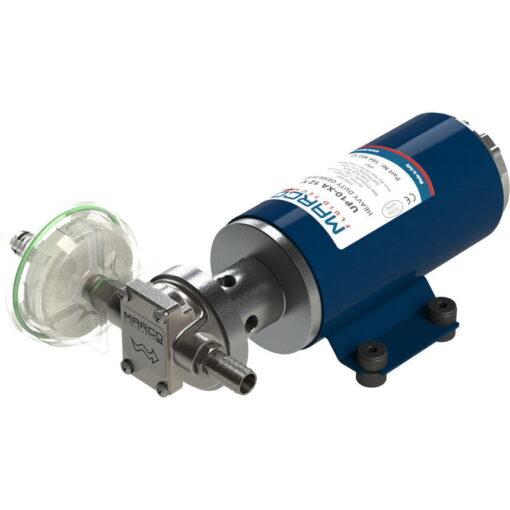 Marco UP10-XA Pompe pour herbicides 4.8 gpm - 18 l/min - s.s. AISI 316 L - FKM (Viton) seal (12 Volt) 3
