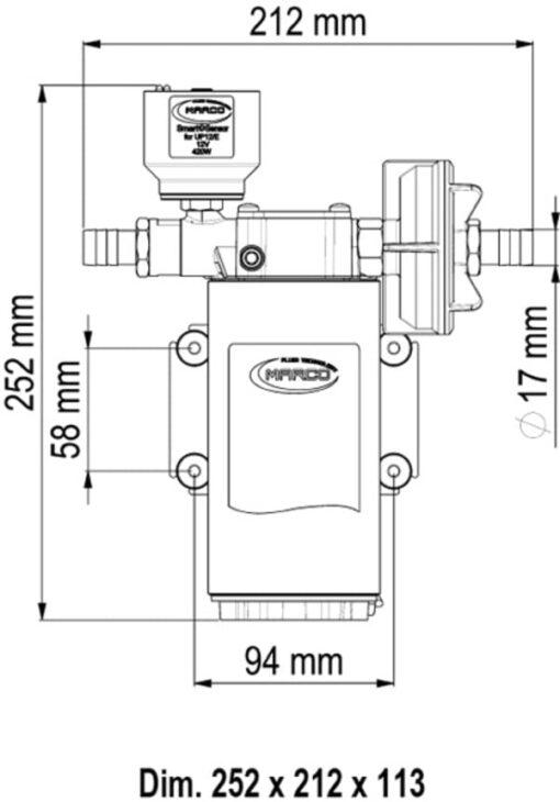 Marco UP12/E Groupe d'eau avec contrôle électronique 9.5 gpm - 36 l/min 4