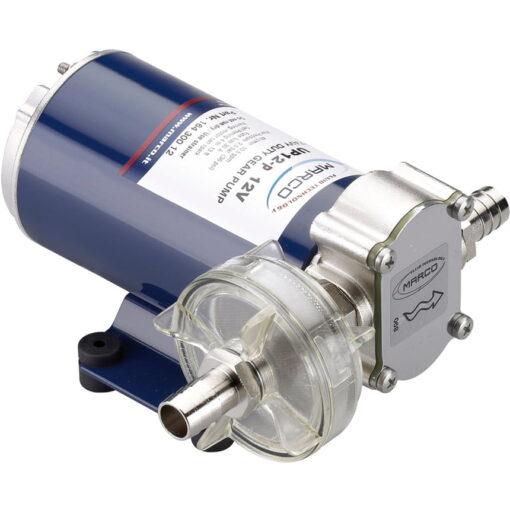 Marco UP12-P Pompe à engrenages PTFE 9.5 gpm - 36 l/min (12 Volt) 3