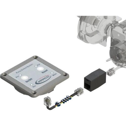 Marco UP14/E-DX 12/24V Double groupe d'eau avec contrôle électr. + PCS 24 gpm - 92 l/min 9