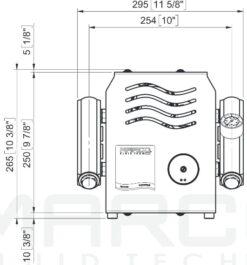 Marco UP14/E-DX 12/24V Double groupe d'eau avec contrôle électr. + PCS 24 gpm - 92 l/min 15