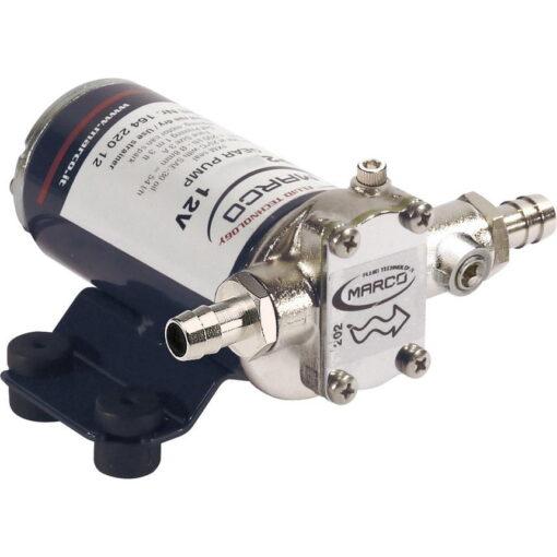 Marco UP2-PV Pompe à engrenages PTFE avec clapet anti-retour 2.6 gpm - 10 l/min (24 Volt) 3