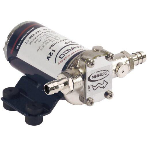 Marco UP2-P Pompe à engrenages PTFE 2.6 gpm - 10 l/min (12 Volt) 3