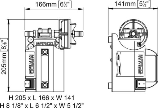 Marco UP3-CK Kit portable pompe à engrenages 4 gpm - 15 l/min (12 Volt) 5