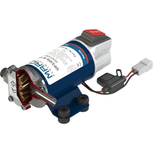 Marco UP3/OIL-R Pompe réversible pour huile + on/off intégré - inversion du flux.(12 Volt) 3