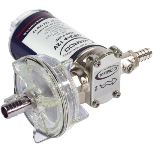 Marco UP3-P Pompe à engrenages PTFE 4 gpm - 15 l/min (24 Volt) 3