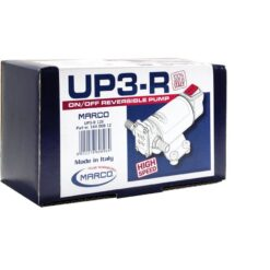 Marco UP3-R Pompe à engrenages bronze 4 gpm - 15 l/min avec on/off intégré - inversion du flux (24 Volt) 11