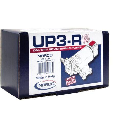 Marco UP3-R Pompe à engrenages bronze 4 gpm - 15 l/min avec on/off intégré - inversion du flux (24 Volt) 7