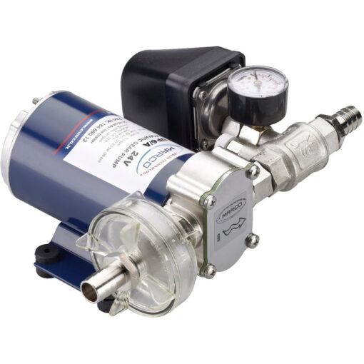 Marco UP9/A Groupe d'eau avec pressostat 3.2 gpm - 12 l/min (12 Volt) 3