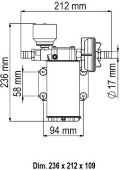 Marco UP6/E Groupe d'eau avec contrôle électronique 6.9 gpm - 26 l/min 7