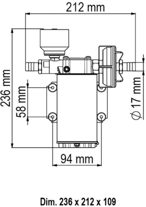 Marco UP6/E Groupe d'eau avec contrôle électronique 6.9 gpm - 26 l/min 4