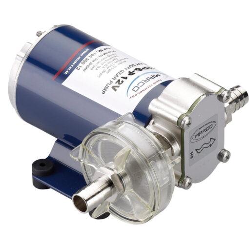 Marco UP6-P Pompe à engrenages PTFE 6.9 gpm - 26 l/min (12 Volt) 3