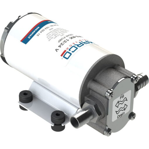 Marco UP6-RK Kit pompe flux reversible avec control eléctronique 6.9 gpm - 26 l/min (12-24 Volt) 3