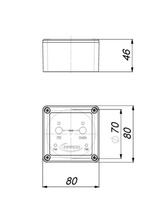 Marco UP3-RK Kit pompe flux reversible avec control eléctronique 4 gpm - 15 l/min (12-24 Volt) 8
