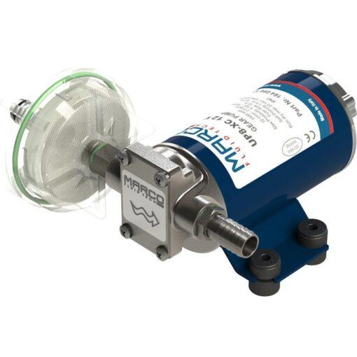 Marco UP8-XC Pompe à engrenages pour services lourds 2.6 gpm - 10 l/min, AISI 316 (24 Volt) 3