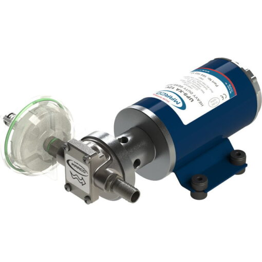 Marco UP9-XA Pompe pour herbicides 3.2 gpm - 12 l/min - Inox AISI 316 L - FKM (Viton) seal (24 Volt) 3