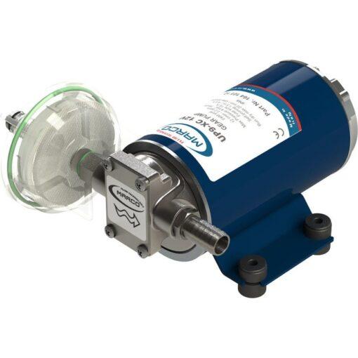 Marco UP9-XC Pompe pour services lourds 3.2 gpm - 12 l/min - Inox AISI 316 L (24 Volt) 3