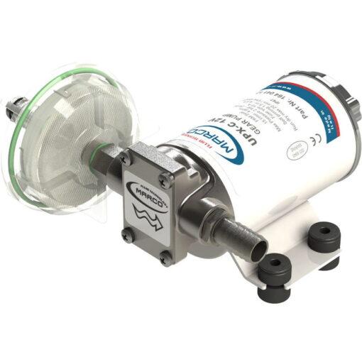 Marco UPX-C 12V Pompe pour chimiques 4 gpm - 15 l/min - Inox AISI 316 (24 Volt) 3