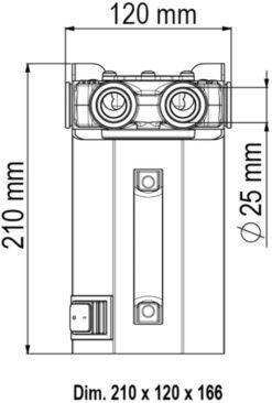 Marco VP45-K Kit ravitaillement avec Pompe à palettes 45 l/min (12 Volt) 12