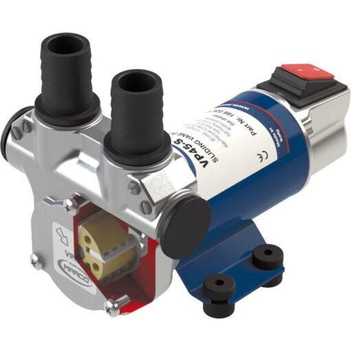 Marco VP45-S Pompe à palettes 11 gpm - 45 l/min avec on/off intégré (12 Volt) 3