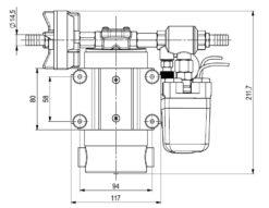 Marco DP12 Kit de Pompe à laver 5 bar - 72.5 psi (12 Volt) 8