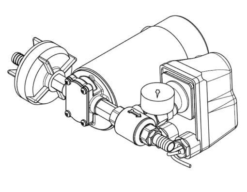 Marco DP12 Kit de Pompe à laver 5 bar - 72.5 psi (12 Volt) 7