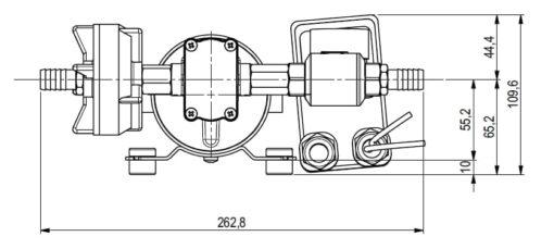 Marco DP12 Kit de Pompe à laver 5 bar - 72.5 psi (12 Volt) 6