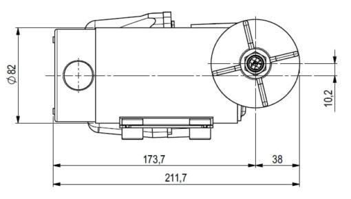 Marco DP12 Kit de Pompe à laver 5 bar - 72.5 psi (12 Volt) 5