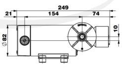 Marco DP12/E Pompe à laver + contrôle électronique 5 bar - 72.5 psi 14