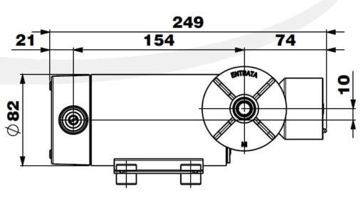 Marco DP12/E Pompe à laver + contrôle électronique 5 bar - 72.5 psi 8