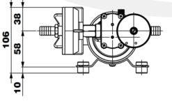 Marco DP12/E Pompe à laver + contrôle électronique 5 bar - 72.5 psi 13
