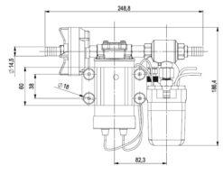 Marco DP3 Kit de Pompe à laver 3 bar - 43.5 psi (12 Volt) 8