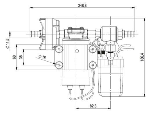 Marco DP3 Kit de Pompe à laver 3 bar - 43.5 psi (12 Volt) 4