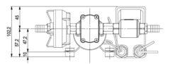 Marco DP3 Kit de Pompe à laver 3 bar - 43.5 psi (12 Volt) 11