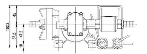 Marco DP3 Kit de Pompe à laver 3 bar - 43.5 psi (12 Volt) 7