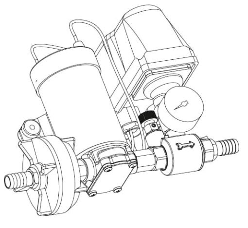 Marco DP3 Kit de Pompe à laver 3 bar - 43.5 psi (12 Volt) 5