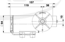 Marco DP3/E Pompe à laver + contrôle électronique 3 bar - 43.5 psi 10