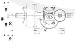 Marco DP3/E Pompe à laver + contrôle électronique 3 bar - 43.5 psi 9
