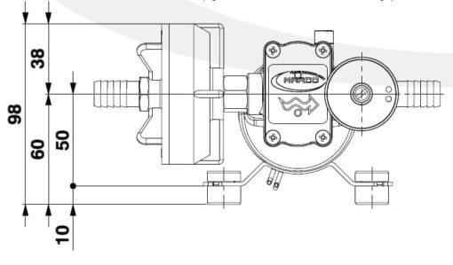 Marco DP3/E Pompe à laver + contrôle électronique 3 bar - 43.5 psi 5