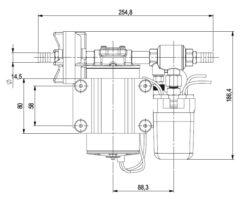 Marco DP9 Kit de Pompe à laver 4 bar - 58 psi (12 Volt) 11