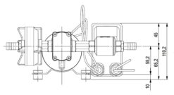 Marco DP9 Kit de Pompe à laver 4 bar - 58 psi (12 Volt) 10