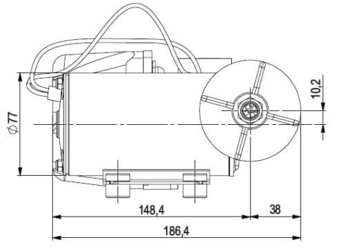 Marco DP9 Kit de Pompe à laver 4 bar - 58 psi (12 Volt) 5