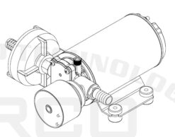 Marco DP9/E Pompe à laver + contrôle électronique 4 bar - 58 psi 10