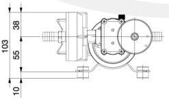 Marco DP9/E Pompe à laver + contrôle électronique 4 bar - 58 psi 9