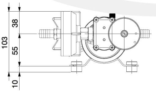 Marco DP9/E Pompe à laver + contrôle électronique 4 bar - 58 psi 5